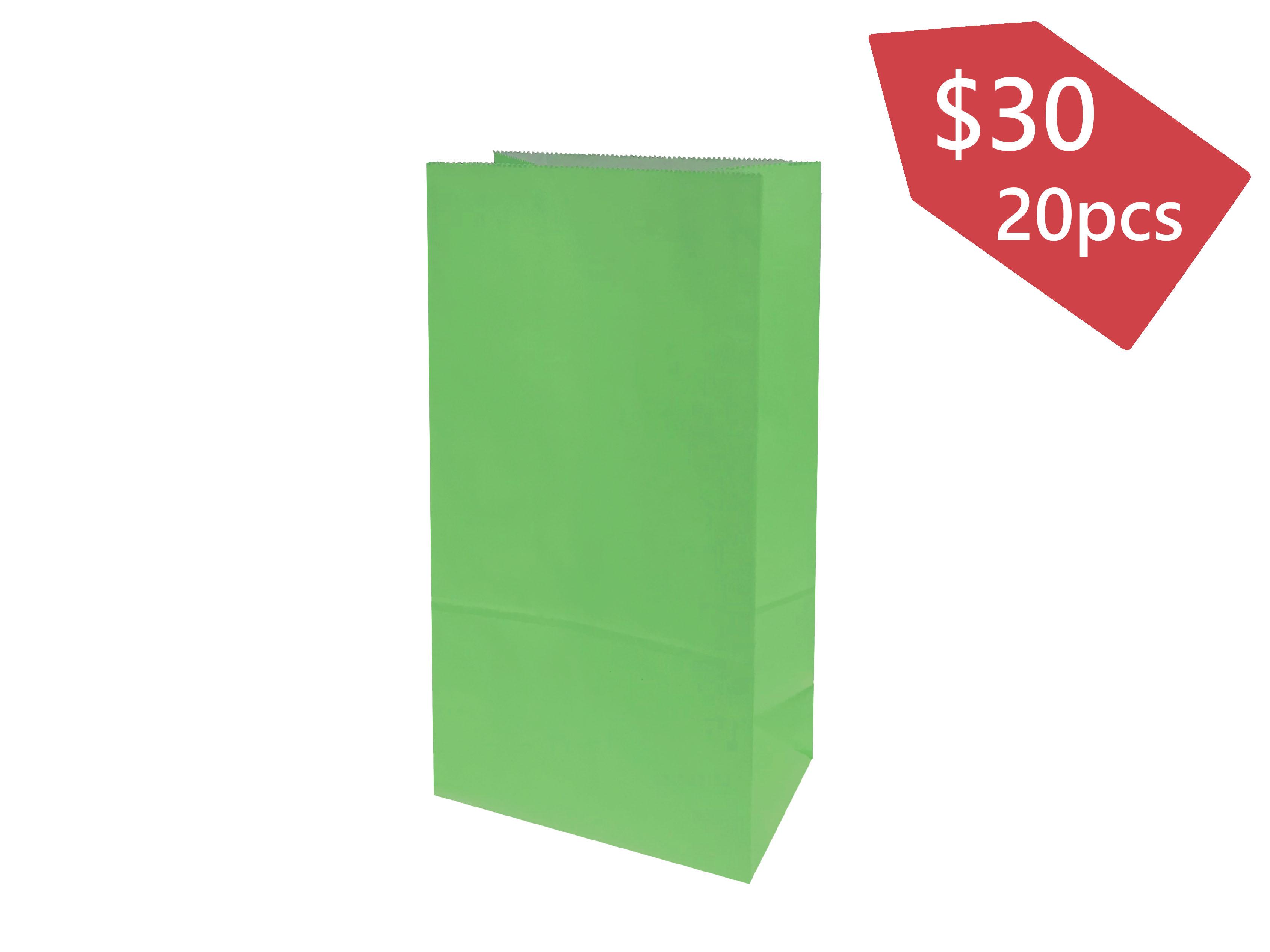無手挽禮品袋 (綠色)